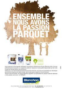Affiche Parquet Bois Blanchon